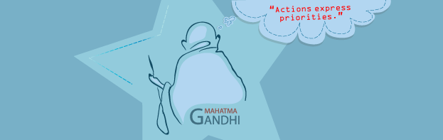 5 Gandhian Quotes