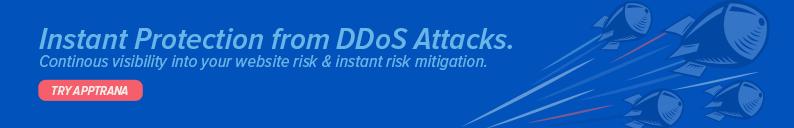 DDoS Banner