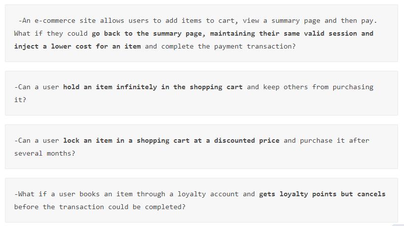Business Logic Vulnerability